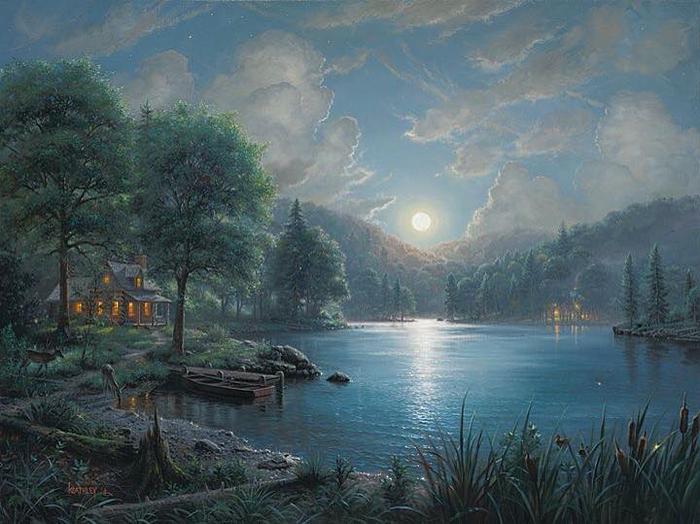 Mark Keathley. Лунная соната (700x524, 371Kb)