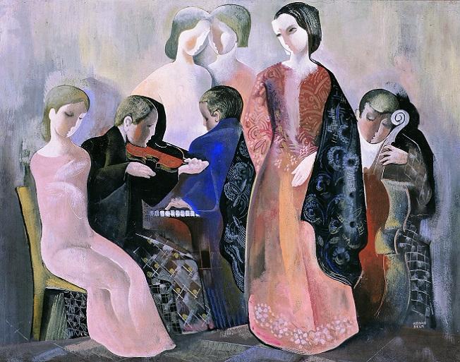 Домашний концерт. 1935 (652x513, 445Kb)