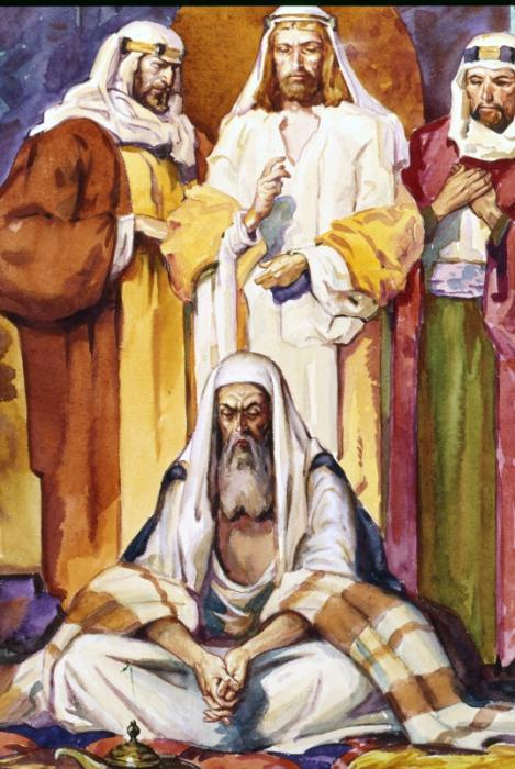 Библейский персонаж ИОВ (469x700, 66Kb)
