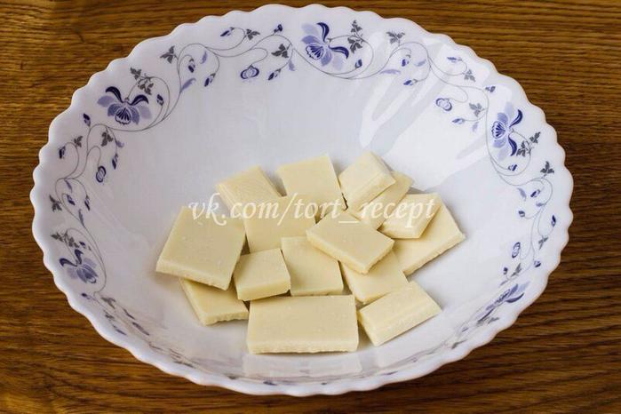 Подтеки для торта из сливок и шоколада для торта