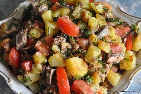 kartofelnyj-salat-so-shprotami-i-pomidorami (600x400, 179Kb)