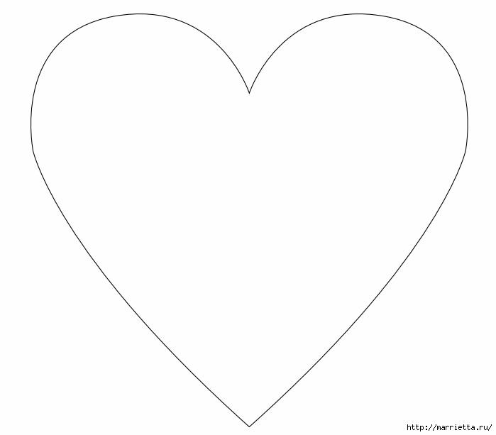 Подушка «Сердце» для интерьера шебби шик (4) (699x613, 37Kb)