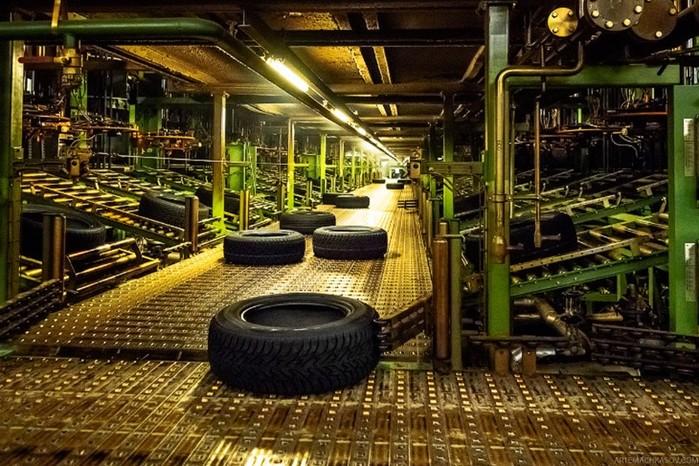 Как делают автомобильные шины в России (фото, видео)