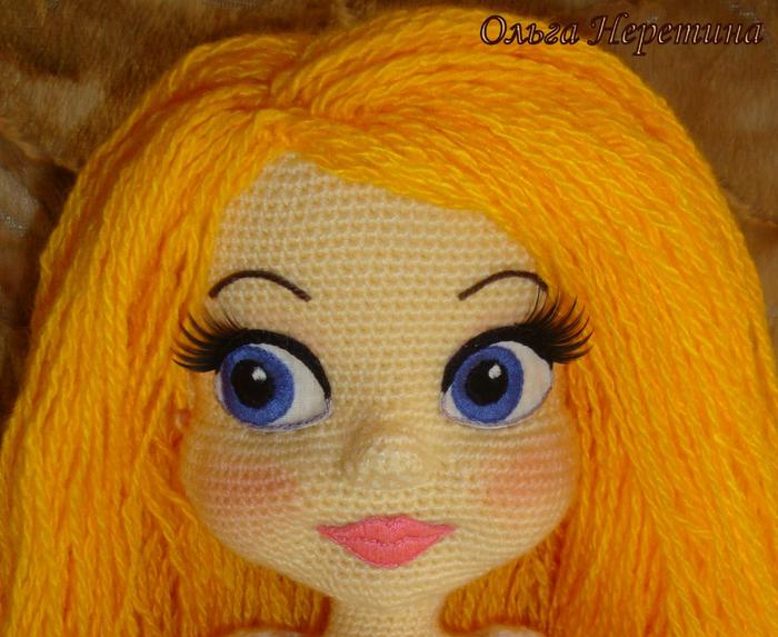 Как сделать глаза вязаным куклами 178