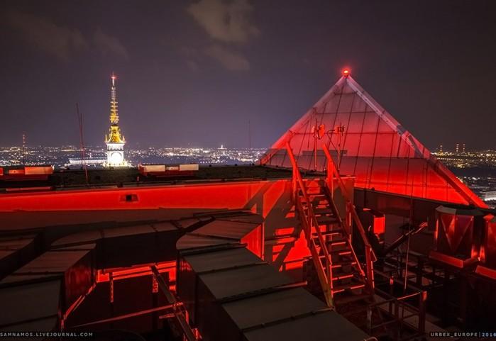 Варшава: вид на город с крыш высотных зданий