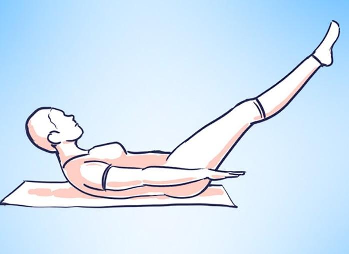 Как делать «Сотню» — золотое упражнение пилатеса для всех мышц живота!