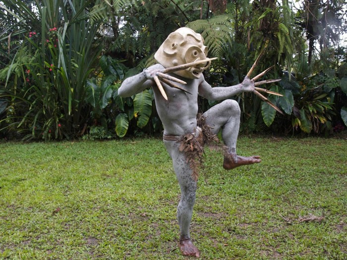 Странные «Грязевые люди» из Папуа — Новая Гвинея