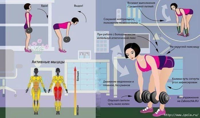 """alt=""""Упражнения на все группы мышц для девушек!""""/2835299_Yprajneniya_na_vse_gryppi_mishc_dlya_devyshek (700x414, 173Kb)"""