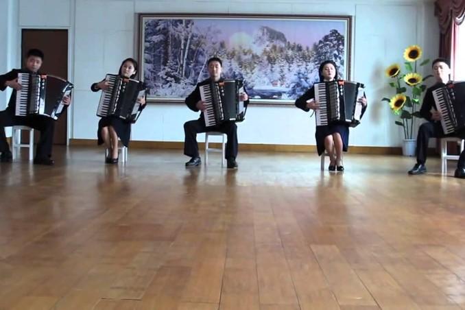 Китайские аккордеонисты