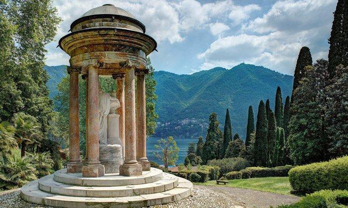 Самые красивые сады Италии!