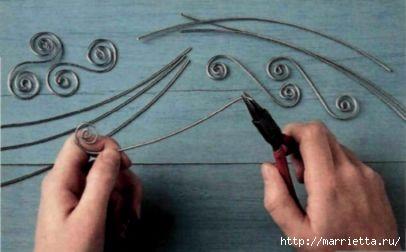 Плетем из проволоки. Как сделать мавританский абажур (4) (406x252, 56Kb)