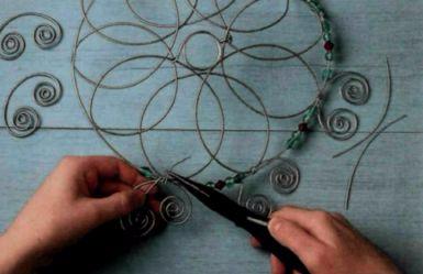 Плетем из проволоки. Как сделать мавританский абажур (12) (385x249, 81Kb)