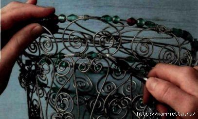 Плетем из проволоки. Как сделать мавританский абажур (14) (407x246, 69Kb)