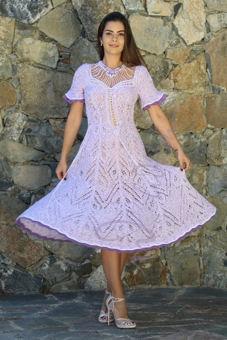 Сиреневое платье 'Эсмеральда' 3 от Зои Вулвич (466x700, 143Kb)