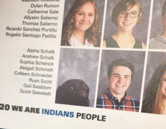 Как портрет собаки попал в выпускной альбом школьников?