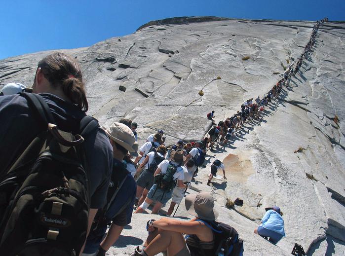 скала Хаф-Доум в парке йосемити 3 (700x519, 457Kb)