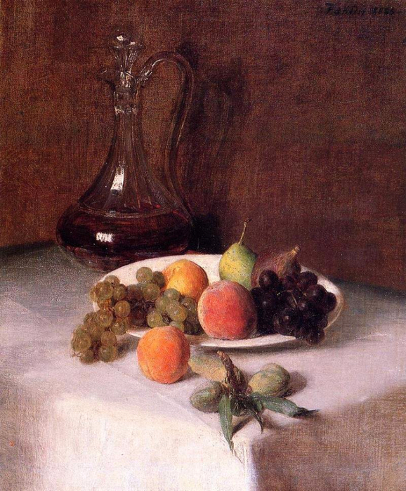 a-carafe-of-wine-and-plate-of-fruit-on-a-white-tablecloth-1865 (578x700, 475Kb)