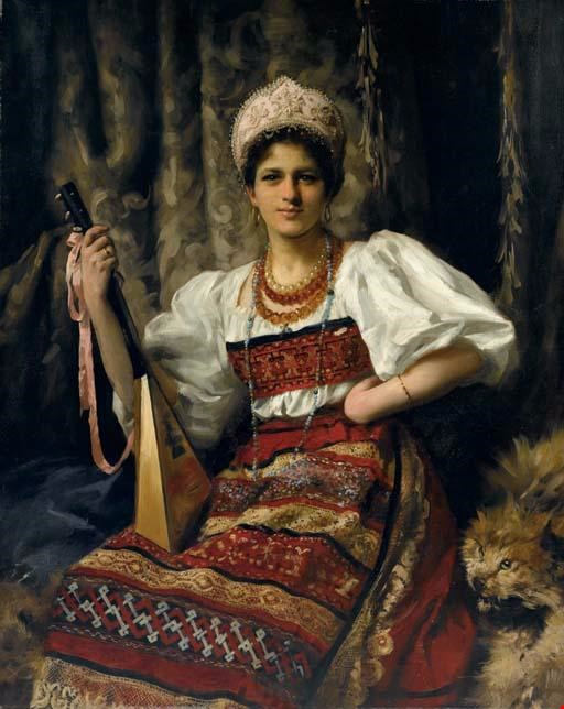 Portrait-of-Anne-in-Russian-costume-holding-a-balalaika (512x644, 266Kb)