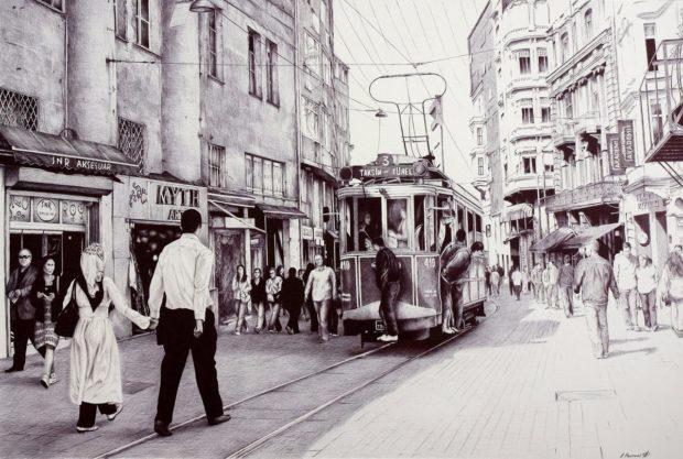 7. Трамвай в Стамбуле (620x417, 239Kb)