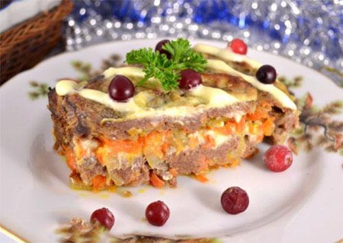 печёночный торт-запеканка(500x355, 166Kb)