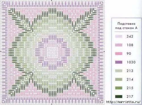Флорентийская вышивка в технике барджелло (3) (500x369, 157Kb)