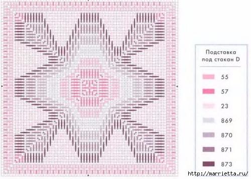 Флорентийская вышивка в технике барджелло (6) (500x356, 132Kb)