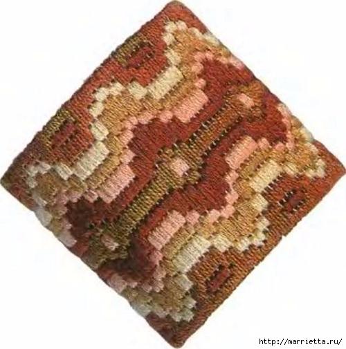 Флорентийская вышивка в технике барджелло (14) (500x505, 143Kb)