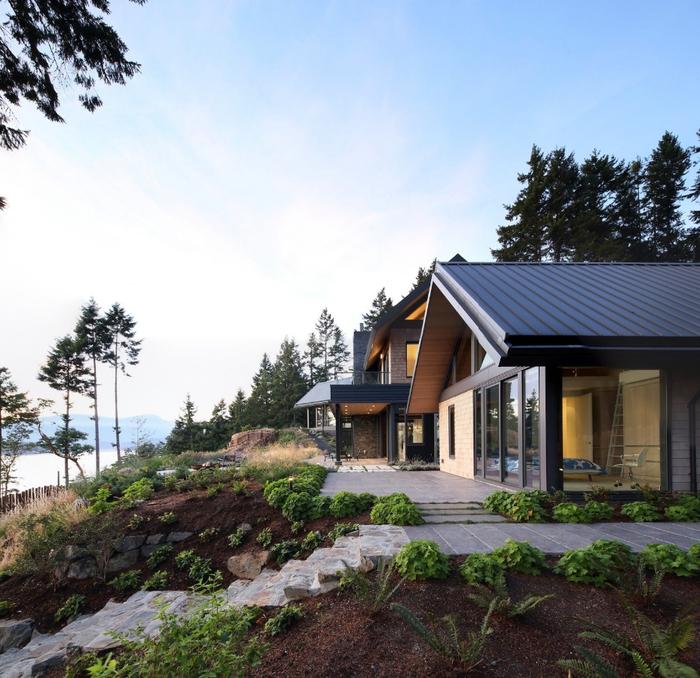 красивый современный дом 14 (700x678, 527Kb)