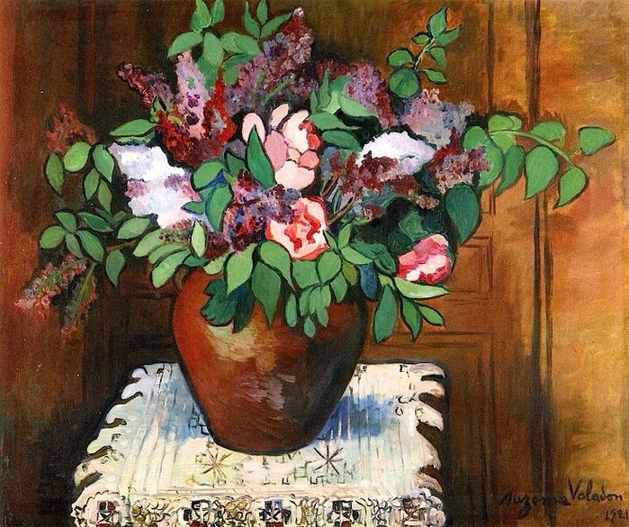 Vase of Flowers. 1921 (700x585, 578Kb)