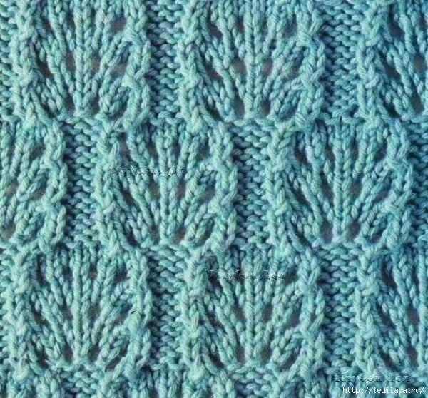 вязание узор спицами