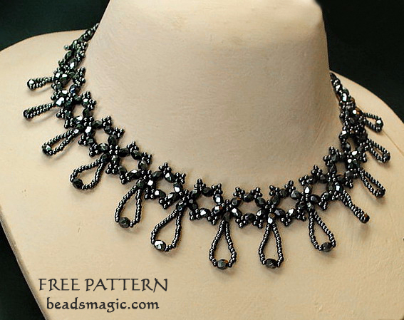 free-beading-tutorial-6mmbeads-necklace-pattern-1 (567x449, 262Kb)