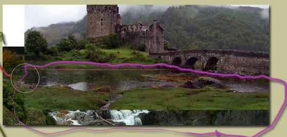 Водопад, Замок и Небо */3071837_08 (558x267, 34Kb)
