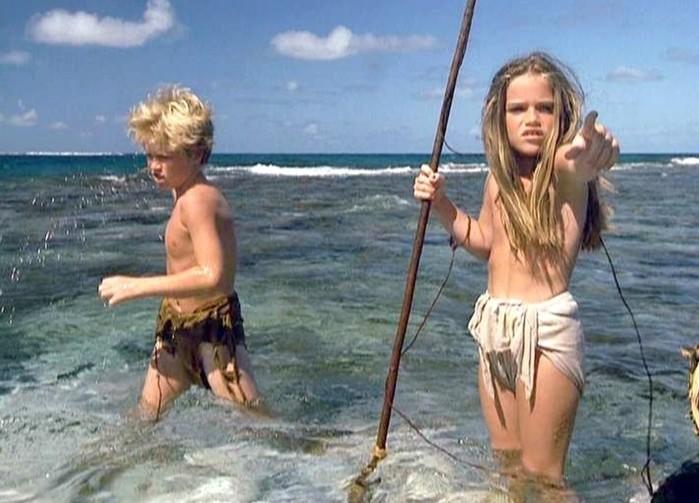 Фильм «Голубая лагуна» (1980)— экранизация романа ирландского писателя