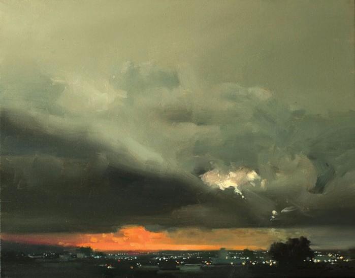 Китайский художник Чжаомин У: туманные пейзажи