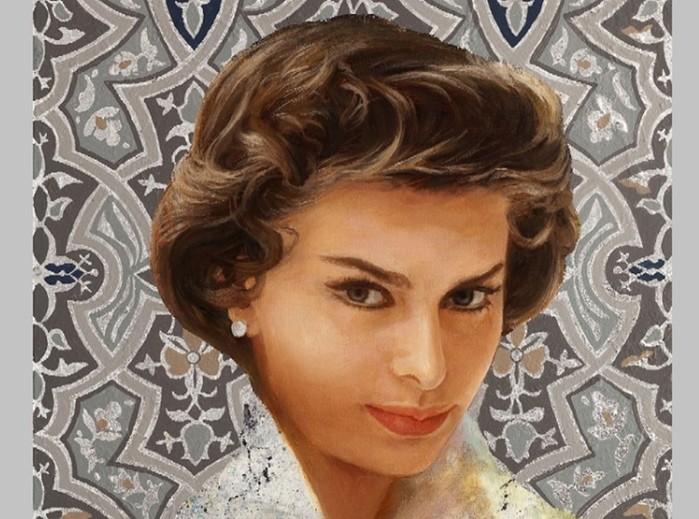 Софи Лорен и Никас Сафронов: роман в картинах длиной 30 лет