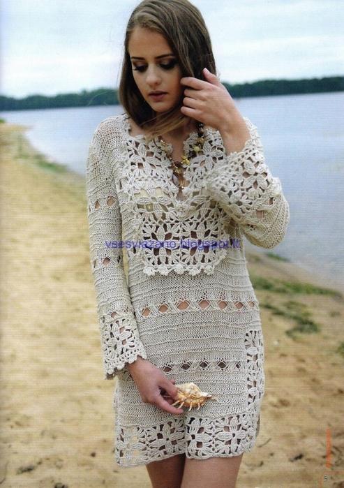 Льняное платье на все времена и размеры