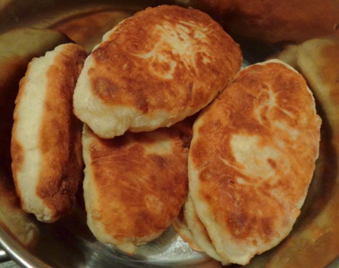 Пирожки с картошкой на сковороде фото рецепт