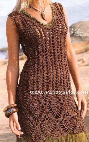 Платье с «ананасами»