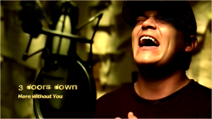 3 doors down here without you babe № 276899