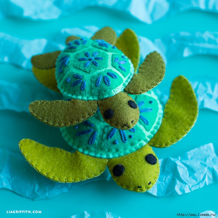 Felt_Turtles_Sea (700x700, 346Kb)