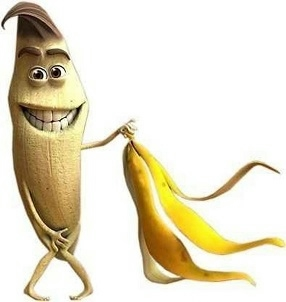 банановая кожура (286x302, 33Kb)