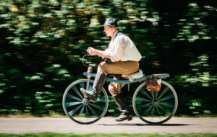 Велосипеду исполнилось ровно 200 лет