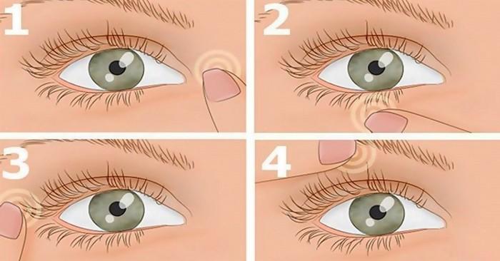 Массаж глаз для восстановления зрения!