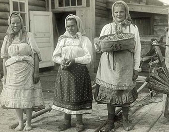 Каким женщинам на Руси запрещено было готовить пищу?