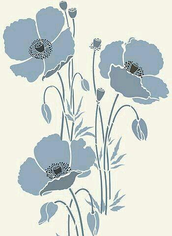 трафарет цветы (1) (350x480, 104Kb)
