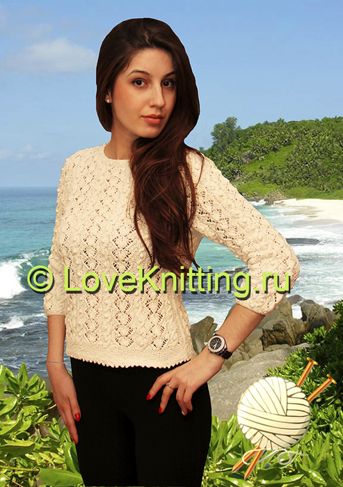 05 Автор Узорчатый пуловер 1 МТ2 (493x700, 392Kb)