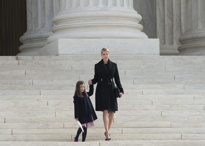 Пятилетняя внучка Трампа рассказала о желании стать морским пехотинцем