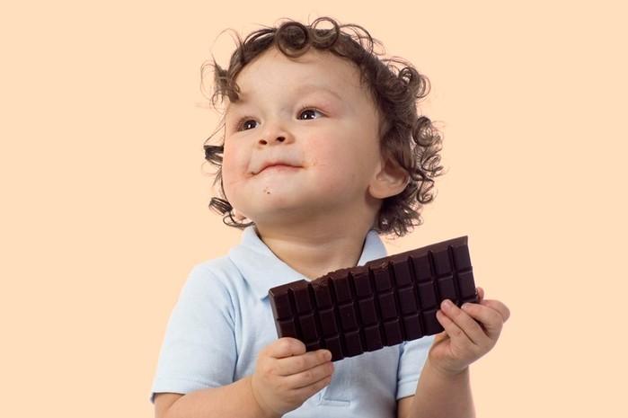 Ребенок любит шоколад? Какая польза этого лакомства