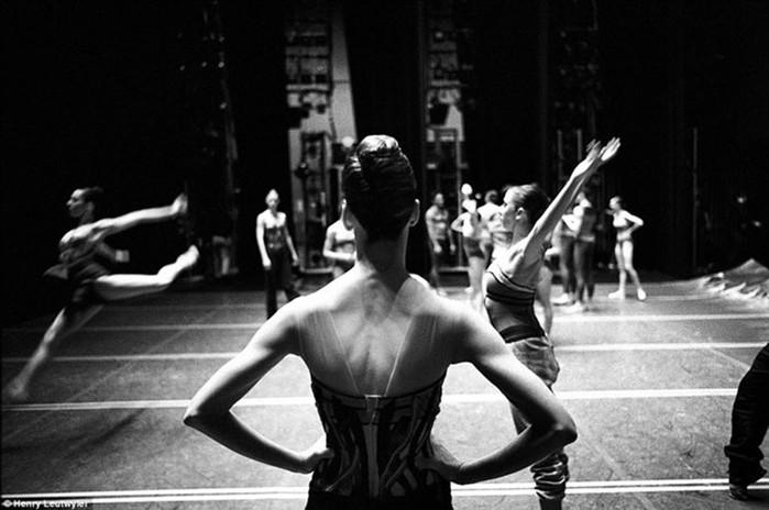 За кулисами нью йоркского балета