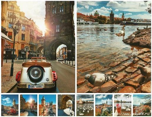 Прага в фотографиях